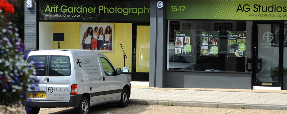 AG Photography Studios St Albans in Hertfordshire