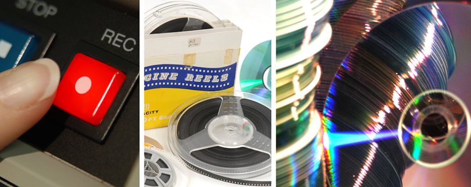 Video film transfer and CD DVD duplication services
