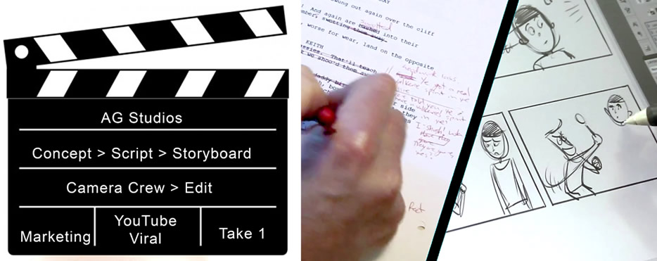 Script to Screen Hertfordshire