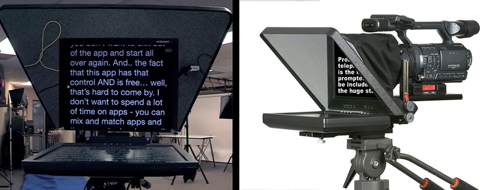 Teleprompter Services Hertfordshire