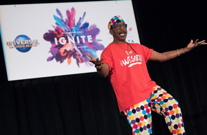 Mr Motivator Event Photographs